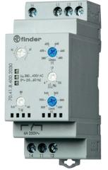 Реле контроля трехфазных сетей Finder 70.41