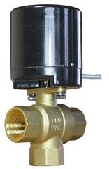 Кран шаровой переключающий с электроприводом AR200-3