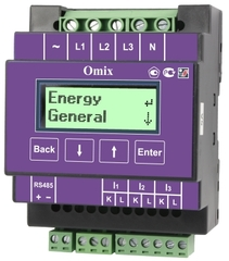 Анализатор параметров трехфазной сети Omix D4-MA-3-0.1-RS485