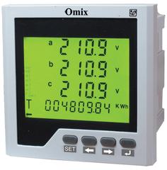 Мультиметр трехфазный щитовой Omix P99-MLY-3-0.5-RS485