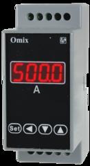 Амперметр постоянного тока на DIN-рейку Omix D2-DA-1-0.5