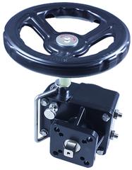 Ручной привод-дублер для шаровых кранов с пневмоприводом ППР РПДП