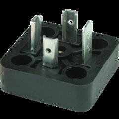 DIN-коннектор с ножевыми контактами SB214