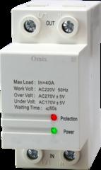 Реле контроля однофазного напряжения Omix D2-V0-1-K6
