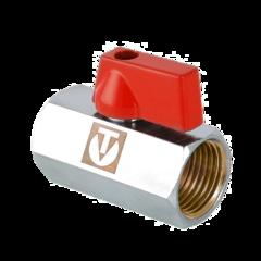 Кран шаровой mini с внутренней резьбой VT.330.N