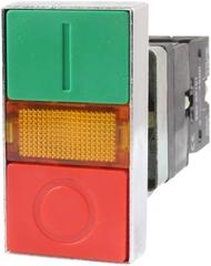 Кнопка двойная с подсветкой AR-XB2-BW8375