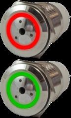 Сирены металлические антивандальные миниатюрные с подсветкой AR-ADM19-BRR.S, AR-ADM19-BRG.S