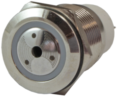 Сирена металлическая антивандальная миниатюрная AR-ADM19-B.S