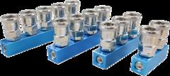 Пневматический коллектор с быстроразъемными соединениями ARP-SM-L