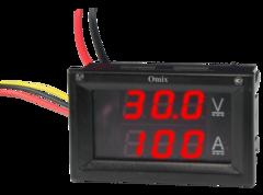 Вольтамперметр постоянного тока щитовой Omix PQ42-DAV2
