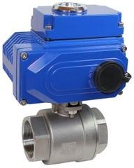 Кран шаровой КПР-2 с электроприводом ЭПР1