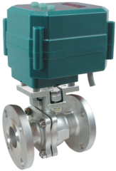 Кран шаровой фланцевый КПР-2Ф с электроприводами ЭПР2, ЭПР2М и ЭПР2У