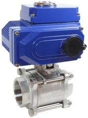 Кран шаровой КПР-3 с электроприводом ЭПР1