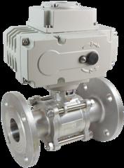 Кран шаровой КПР-3Ф с электроприводом ЭПР3