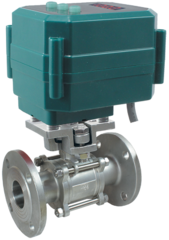 Кран шаровой фланцевый КПР-3Ф с электроприводами ЭПР2, ЭПР2М и ЭПР2У