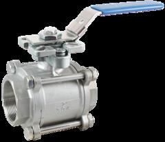 Кран шаровой КПР-3 с ручным приводом