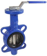 Дисковый поворотный затвор КПР-Б7 с ручным приводом