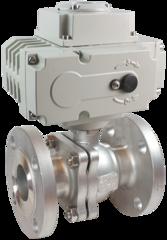 Кран шаровой КПР-2Ф с электроприводом ЭПР3