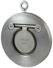 Клапан обратный одностворчатый межфланцевый ОКО-14Ф