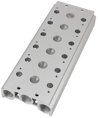 Плита для подключения пневмораспределителей ПМ-53