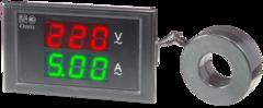 Вольтамперметр однофазный щитовой Omix PQ74-AV2-1-N2