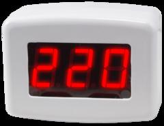 Вольтметр однофазный в розетку Omix PS54-V1-1