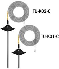 Бескорпусные канальные датчики температуры (закрытые) TU-K01-С, TU-K02-С