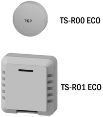 Комнатные датчики температуры TS-R00 ECO, TS-R01 ECO
