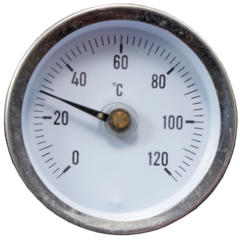 Термометр биметаллический накладной ТБН-А-63