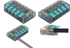 Клемма соединительная с рычажным зажимом UBC-595