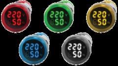 Цифровой индикатор напряжения и частоты Omix R30-VF2-1