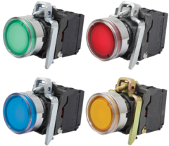 Кнопка с подсветкой AR-XB4-BW
